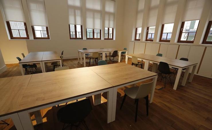 Visita a la Antigua Escuela de Comercio