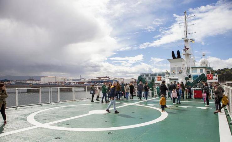 El patrullero 'Rio Segura' regresa a Asturias