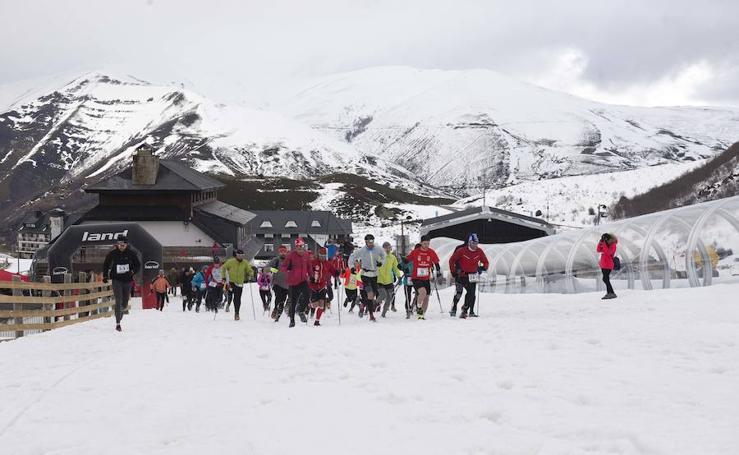 ¿Estuviste en el Trail Blanco en Valgrande-Pajares? ¡Búscate!