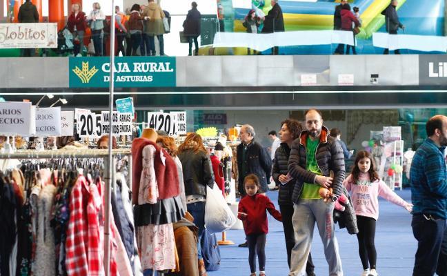 La Feria de Saldos cierra el fin de semana con 15.000 visitantes y mayores ventas
