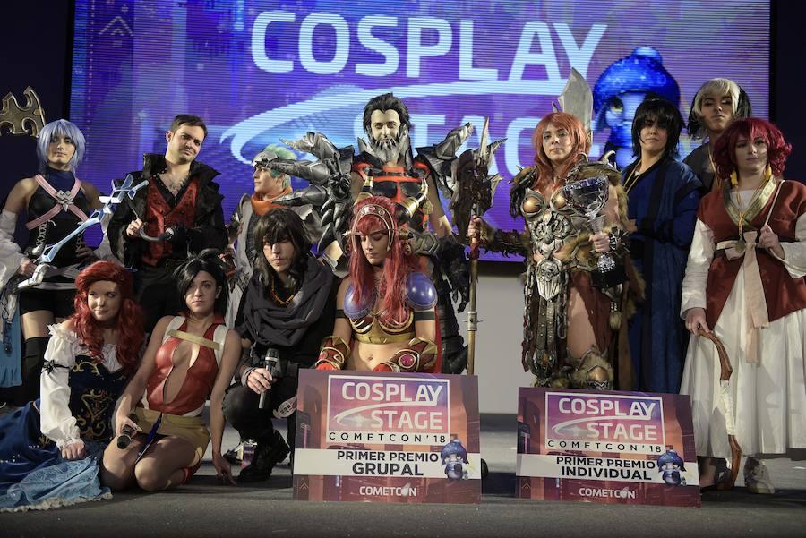 Los mejores cosplayers se dan cita en la Cometcon