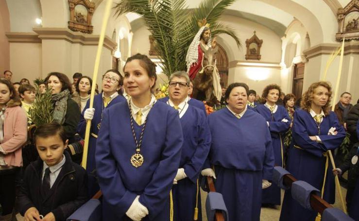 El mal tiempo obliga a suspender las procesiones en Oviedo