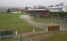 Se aplaza el Valdesoto-Real Avilés por inundación del terreno de juego
