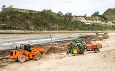 Asturias apura el arreglo de los daños del temporal ante el puente de Semana Santa