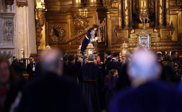 La procesión del Nazareno en Oviedo