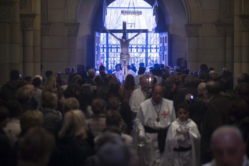 El Vía Crucis de Gijón, suspendido