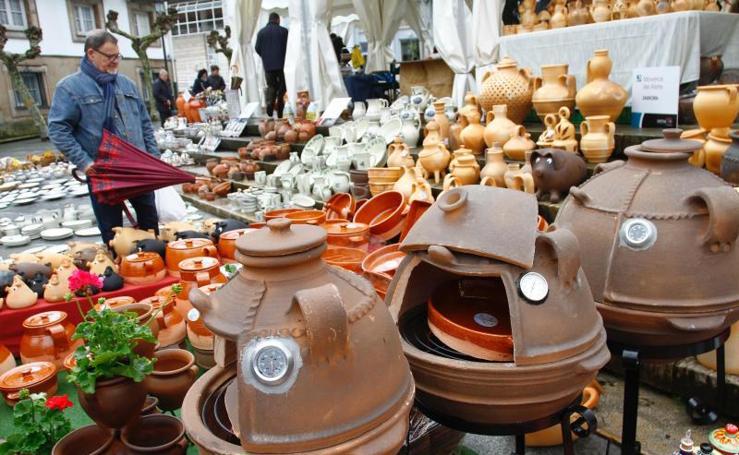 Feria de Alfarería en Avilés
