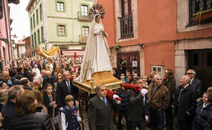 Llanes se vuelca con el Santo Encuentro