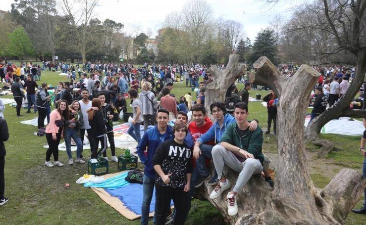 ¿Estuviste en el parque de Ferrera en la Comida en la Calle? ¡Búscate!