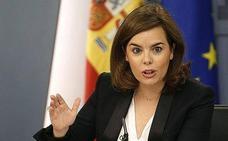 Soraya Sáenz de Santamaría presidirá mañana la toma de posesión de Mariano Marín como delegado del gobierno