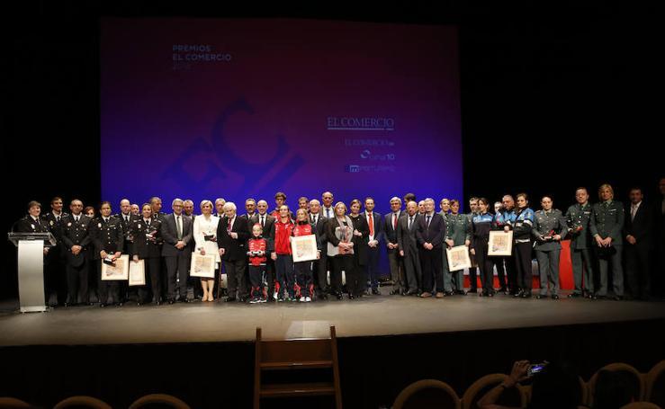EL COMERCIO entrega sus premios 2018