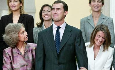 La evolución de la relación entre doña Letizia y doña Sofía