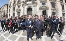 Concentraciones masivas en todos los órganos judiciales de España
