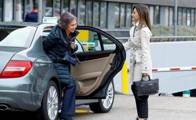 La Reina Letizia y doña Sofía se muestran sonrientes tras la polémica de Palma