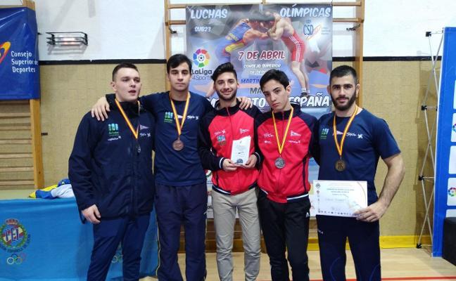Cuatro medallas en los Campeonatos de España