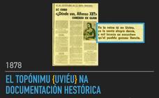 Iniciativa pol Asturianu defiende que 'Uviéu' «aparece en textos del año 1832»