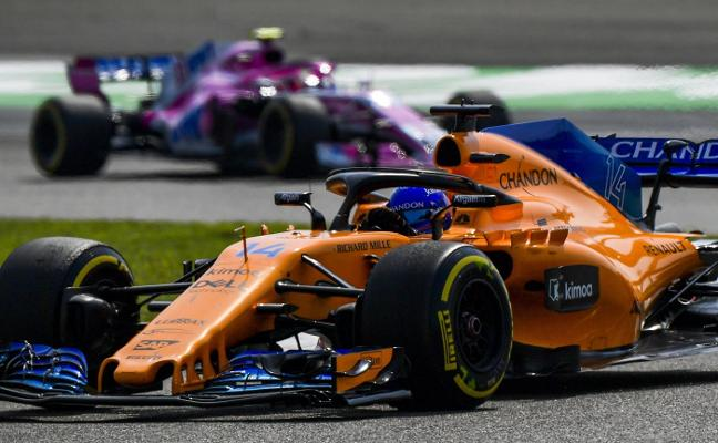 McLaren crece con Alonso