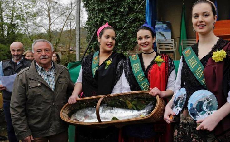 El Sella da el campanu de Asturias