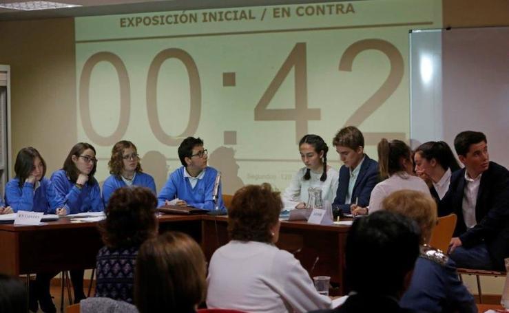 I Liga de debate escolar de Asturias