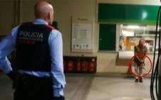 Amenaza durante dos horas con una motosierra a nueve patrullas en Girona
