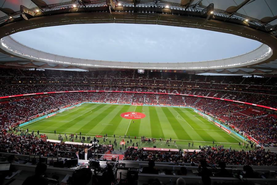 Las mejores imágenes del ambiente en la final de Copa