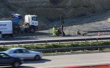Las obras de los enlaces al PEPA obligan a cortar la autovía la noche del jueves al viernes