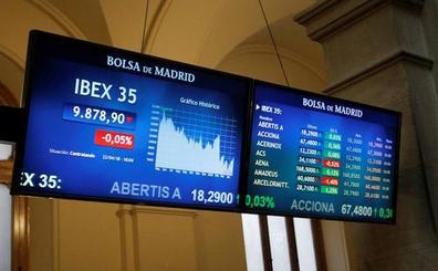El Ibex recupera los 9.900 con el apoyo de Wall Street