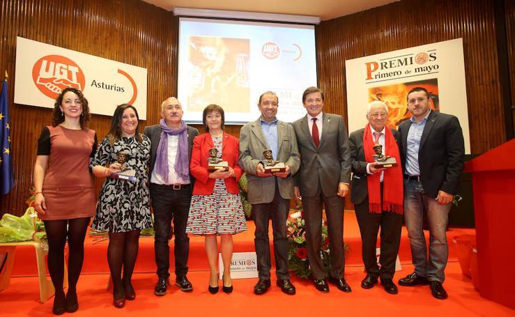 UGT entrega sus premios Primero de Mayo