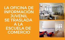 La Oficina de Información Juvenil de Gijón se traslada a la Escuela de Comercio