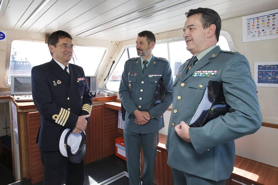 Presentación de la embarcación de prácticas Isla Deva