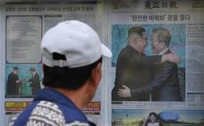 El «encuentro histórico» intercoreano abre «una nueva era para la paz», según Pyongyang