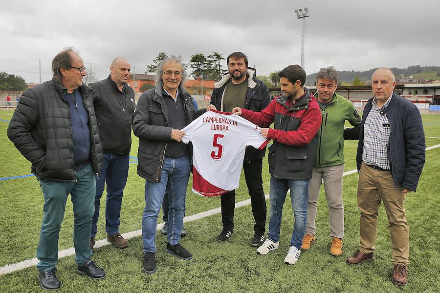 Gijón Industrial 1 - 1 Ceares, en imágenes