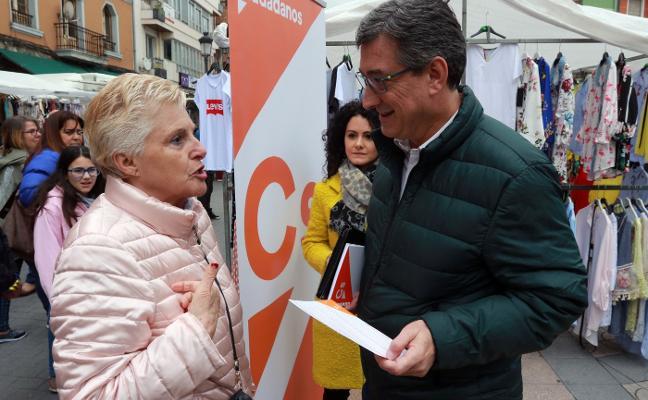 Ciudadanos rechaza que se recorte el trazado de Renfe en La Felguera