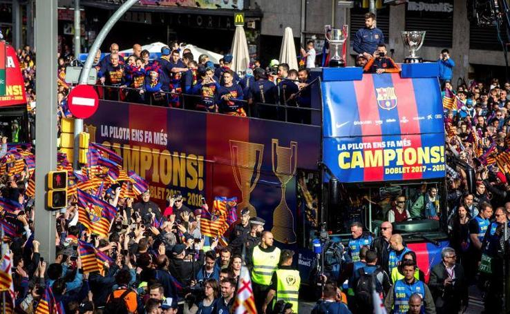 Barcelona se rinde al canpeón de Liga