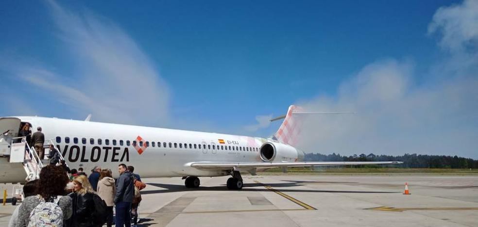 El estallido de un fusible, causa del incidente en el vuelo de Volotea