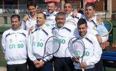 Los veteranos del Santa Olaya se la juegan ante el Tenis Gijón