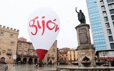 Promocionar Gijón también desde el aire