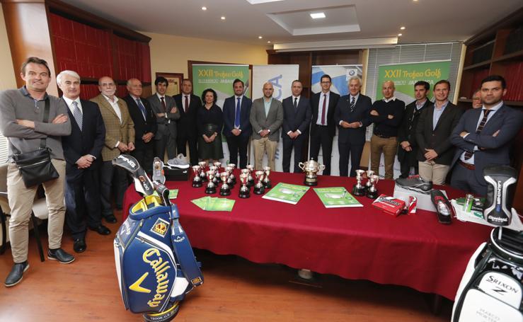 Presentación del XXII Trofeo EL COMERCIO-ABANCA