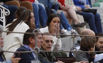 El tremendo susto de Victoria Federica por la cogida de Gonzalo Caballero en Las Ventas