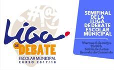 Hoy se celebra la semifinal de la I Liga de Debate Escolar Municipal