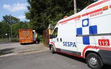 Herido grave un hombre tras caer a la vía del tren y ser arrollado en Pola de Siero