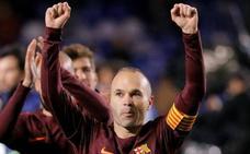 El trofeo de Liga se entregará el día de la Real Sociedad y será el homenaje para Iniesta