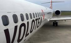 Retraso de 16 horas en el vuelo de Volotea entre Palma y Asturias