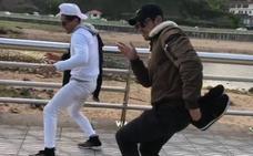 Mario Casas arrasa en Instagram con un baile en Colunga