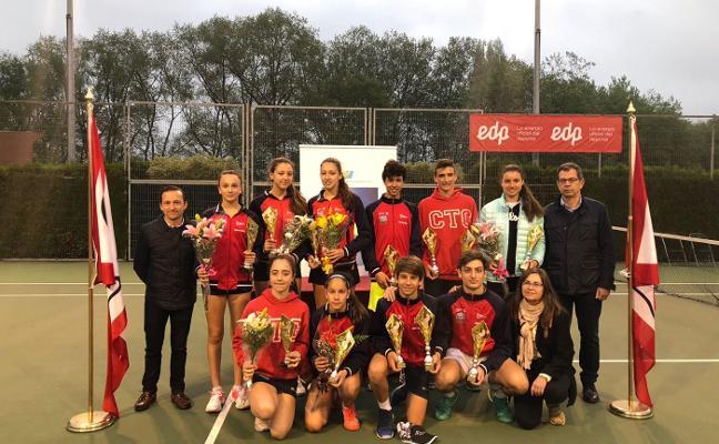 Destacada actuación en el Campeonato de Asturias Cadete