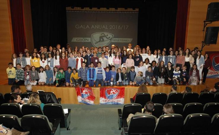 El Gijón Atletismo celebra su gala anual