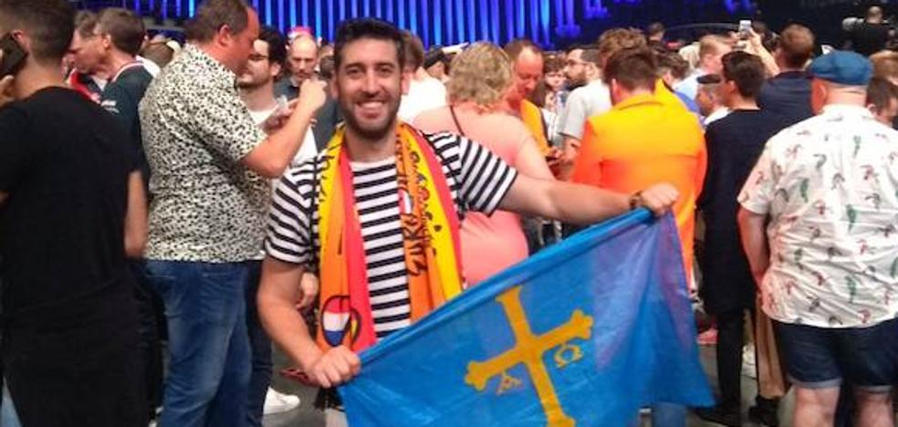 De Piedras Blancas a Eurovisión: once horas de viaje para cumplir un sueño