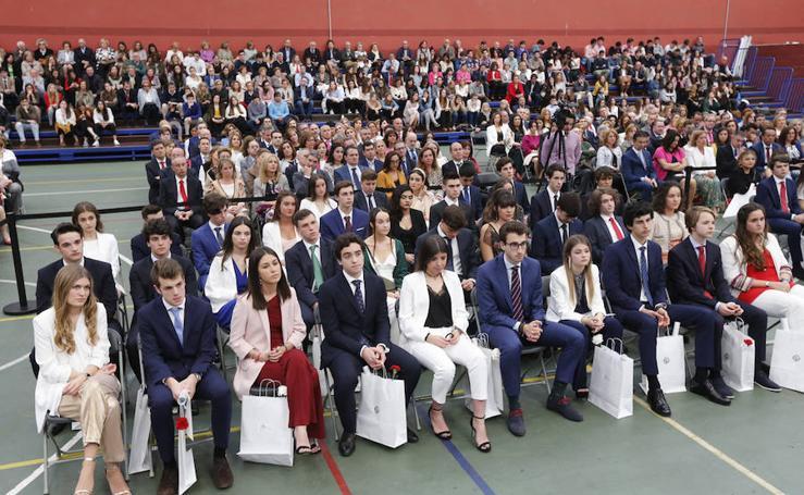 Graduación del colegio de la Inmaculada Concepción de Gijón