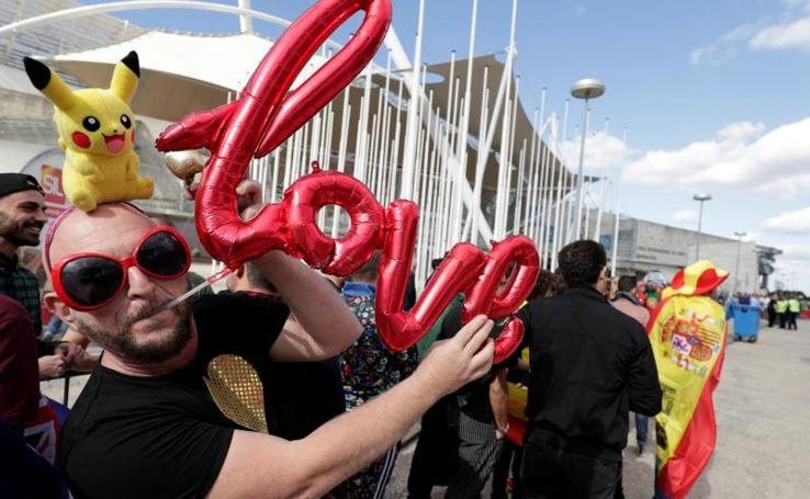 Lisboa desborda ambiente 'eurovisivo'