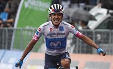Richard Carapaz, primer ecuatoriano que gana en el Giro
